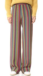 Holly Fulton Striped Trousers Multi Stripe