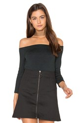 Rag And Bone Donna Top Charcoal