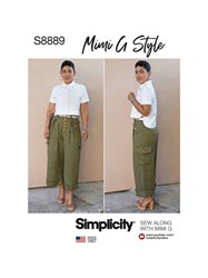 Simplicity Misses' Shirt And Wide Leg Trousers By Mimi G Style Sewing Pattern 8889