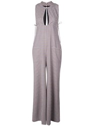 Rosie Assoulin Sleeveless Jumpsuit White
