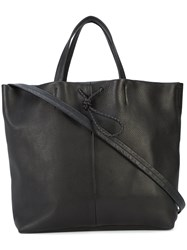 Shinola Large Shopper Tote Black