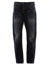 Mastercraft Union Bleached Straight Jeans Blue