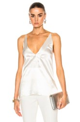 Dion Lee Contour Cami Top In White