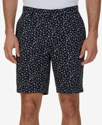 Nautica Men's Classic Fit Anchor Print Cotton Shorts True Navy