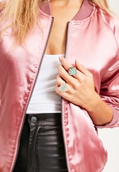 Missguided Shell And Babe Power Statement Ring Set Multi