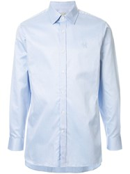 Gieves And Hawkes Logo Embroidered Shirt 60