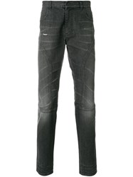 Faith Connexion Slim Fit Biker Jeans Black