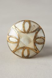 Anthropologie Mother Of Pearl Knob White