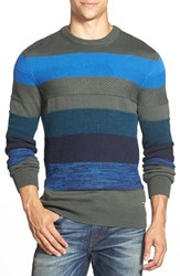 Men's Diesel 'Mayall' Knit Sweater Olive Green