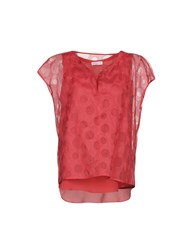 Rosso35 Blouses Brick Red