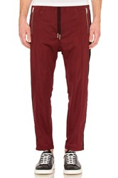 Diesel Newton Pants Burgundy