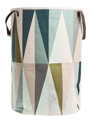 Ferm Living Spear Hand Printed Laundry Basket