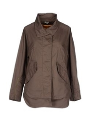 Hoss Intropia Jackets Dove Grey