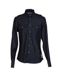 Dekker Denim Denim Shirts Men Blue