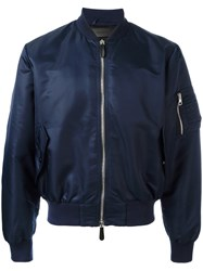 J.W.Anderson Classic Bomber Jacket Blue