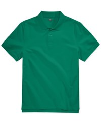 Club Room Men's Anson Pique Polo Only At Macy's Pretty Pine