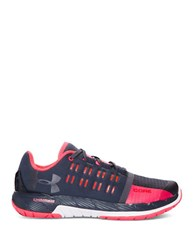 Under Armour Charged Core Lace Up Sneakers Black Red