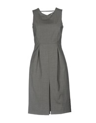 Max And Co. Knee Length Dresses Grey