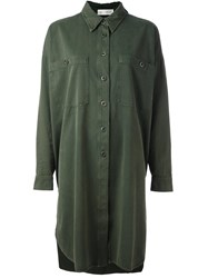 Faith Connexion Long Shirt Green