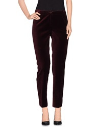 Irma Bignami Casual Pants Deep Purple