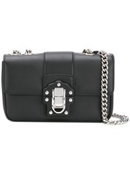 Dolce And Gabbana Lucia Shoulder Bag Women Leather One Size Black