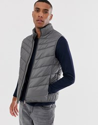 Selected Homme Utility Gilet Grey
