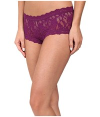 Hanky Panky Signature Lace Boyshort Fine Wine Women's Underwear Burgundy