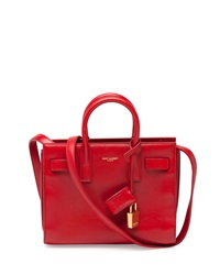 Sac De Jour Nano Crossbody Bag Red Saint Laurent
