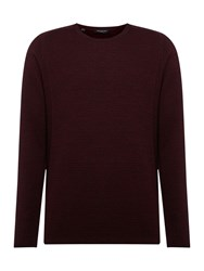 Selected Homme Bakes Crew Neck Knit Red