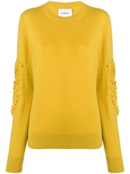 Barrie Cashmere Sweater Yellow And Orange