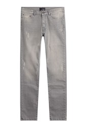 The Kooples Distressed Jeans Grey