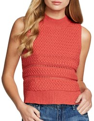 Jessica Simpson Alexia Sleeveless Top Spiced Coral
