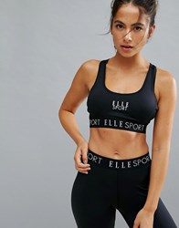 Elle Sport Sports Underband Support Bra Black