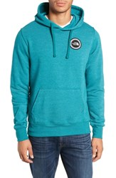 The North Face Logo Patch Pullover Hoodie Everglade Heather