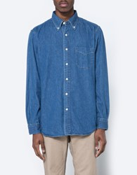 Orslow Button Down Shirt Denim Used