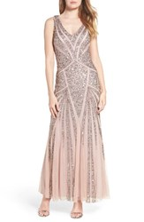 Pisarro Nights Women's Mesh Mermaid Gown