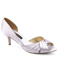 Nina Culver Evening Sandals Women's Shoes Silver