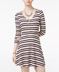 American Rag Striped Fit And Flare Dress Only At Macy's Multi Stripe