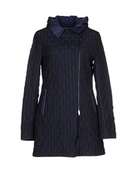 Escada Sport Coats And Jackets Full Length Jackets Women Dark Blue