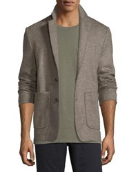 Billy Reid Dylan Wool Blend Sport Coat Taupe