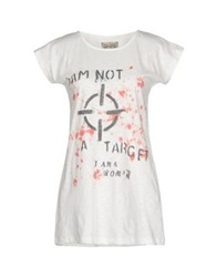 Mary Cotton Couture T Shirts White