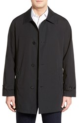 Men's Cole Haan Water Resistant Overcoat Black