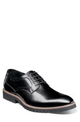 Stacy Adams Barclay Plain Toe Derby Black Leather