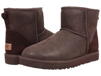 Ugg Classic Mini Bomber Bomber Jacket Chocolate Men's Pull On Boots Brown