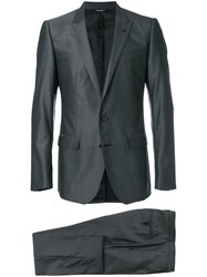 Dolce And Gabbana Two Piece Suit Grey