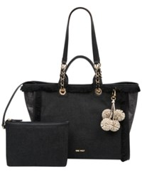 Nine West Trixie Large Tote Black