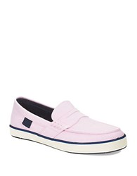 Polo Ralph Lauren Evan Boat Shoes New Rose