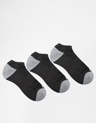 Abercrombie And Fitch Ankle Socks 3 Pack Grey