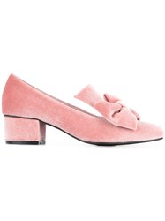 Macgraw Lady Love Pumps Velvet Pig Leather Rubber Pink Purple