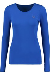 Lucas Hugh Stretch Knit Top Royal Blue